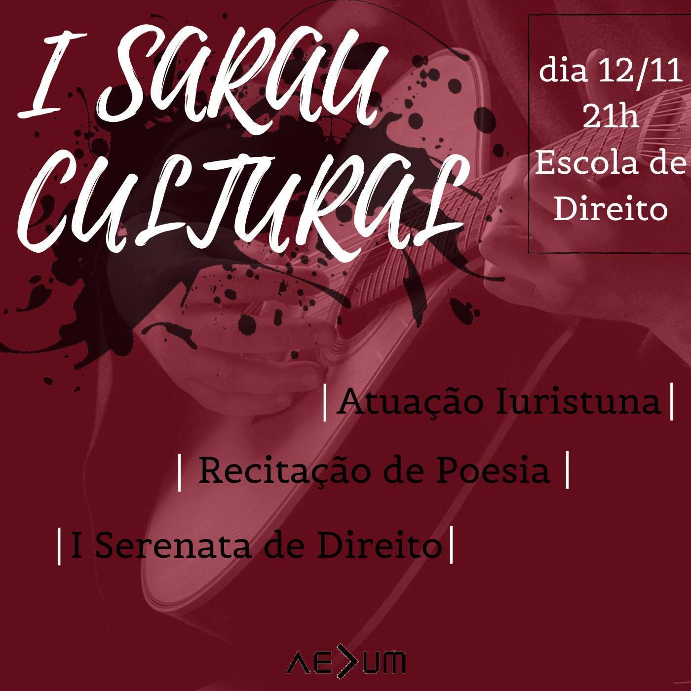 I Sarau Cultural