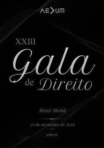 Save the Date – Gala de Direito
