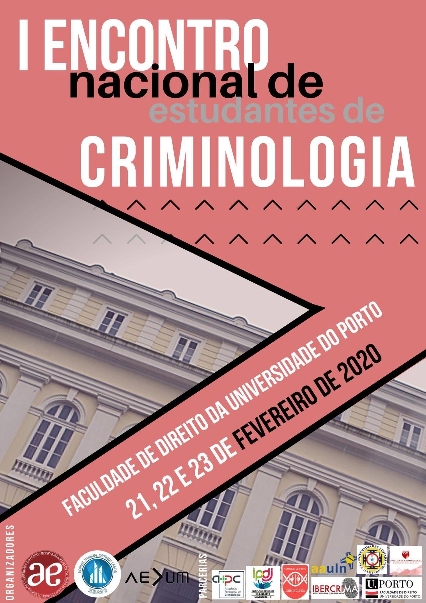 I Encontro Nacional de Estudantes de Criminologia
