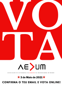 Eleições AEDUM 2021 – Manual do Eleitor