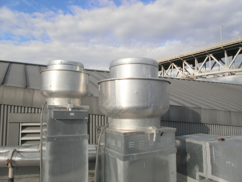 Rooftop Kitchen Exhaust Fan