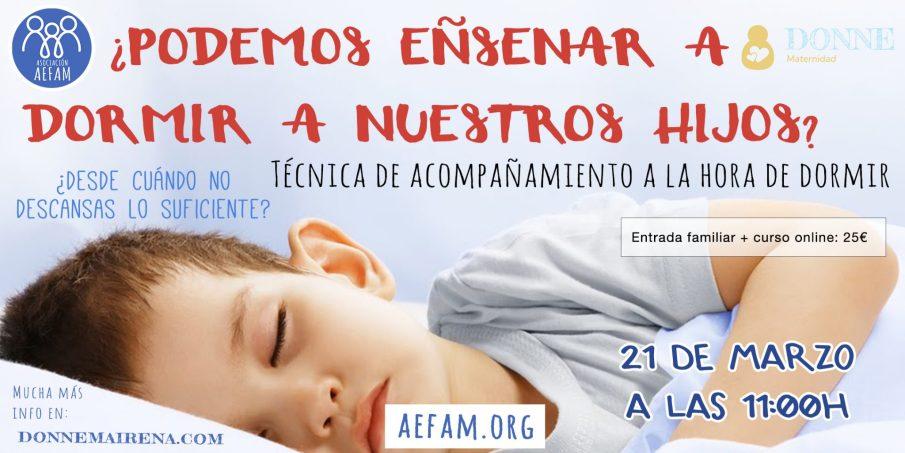 Taller de acompañamiento en el sueño: 21 de Marzo a las 11:00h en Donne Maternidad (Mairena del Aljarafe, Sevilla) SUSPENDIDO