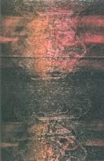 """ghost monoprint 4"""" x 6"""", oil-based ink on somerset velvet paper"""