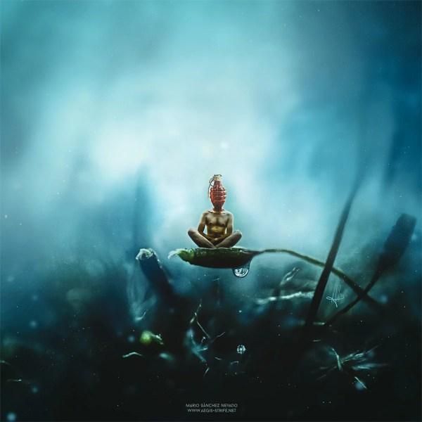 Surreal Digital Art & Illustration Mario . Nevado