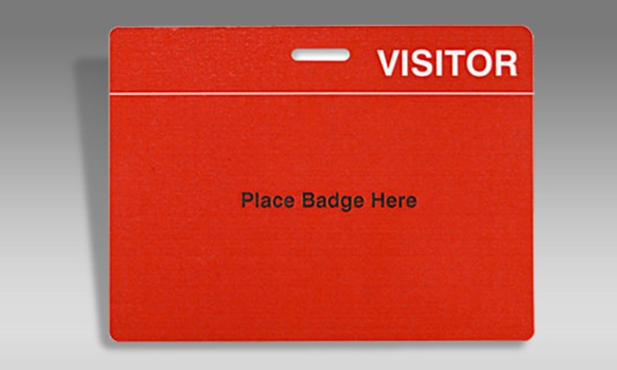 Visitor Card Holder