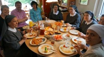 Mittagessen bei Familie Mechels / Braun