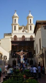 Old Cairo - Hängende Kirche