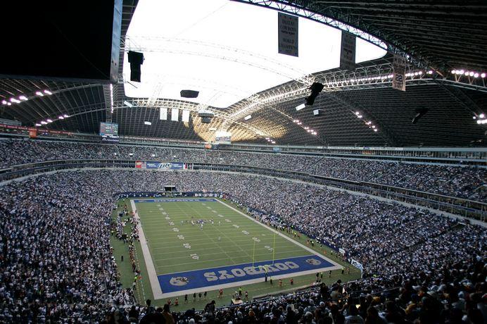 Cowboys Stadium Retractable Roof History Of Innovation
