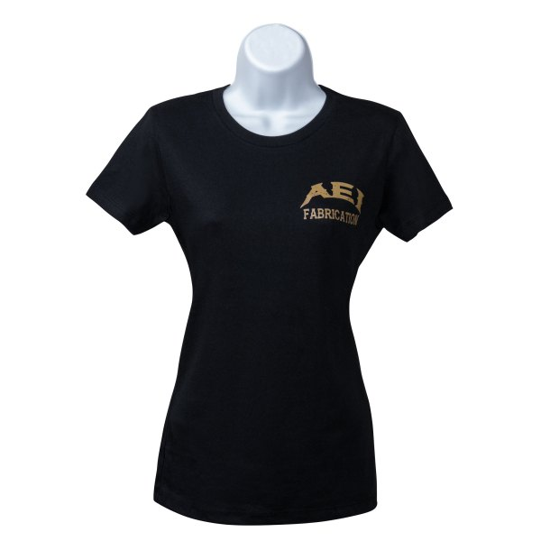 AEI Fabrication Shiner Womens T-Shirt In black