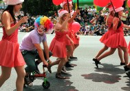 Santa Parade, Auckland, New Zealand 2012
