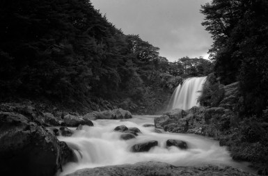 tongariro new zealand waterfall
