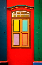 singapore colorful entrance door