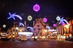 Dijon, France: Place Francois Rude