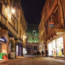 Dijon, France: Rue Stephen Liegeard