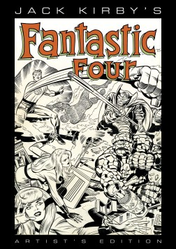 Jack Kirbys Fantastic Four Artists Edition cover