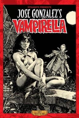 Jose Gonzalezs Vampirella Art Edition cover