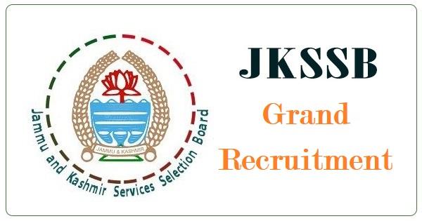 JKSSB Recruitment 2021: Apply for 462 Post Online
