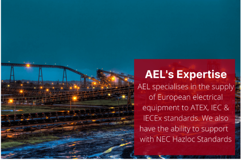 Our Hazardous Area Electrical Equipment and Wholesale Electrical Supplies meet industry quality standards like IECEx. IEC and ATEX