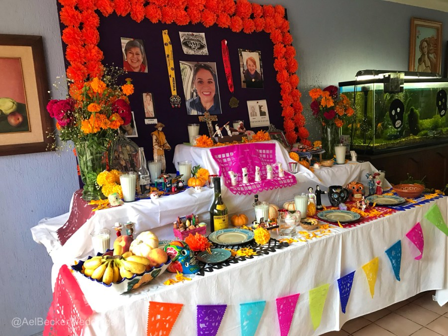 Altar de Muertos, Day of the Dead explained by Ael Becker Weddings