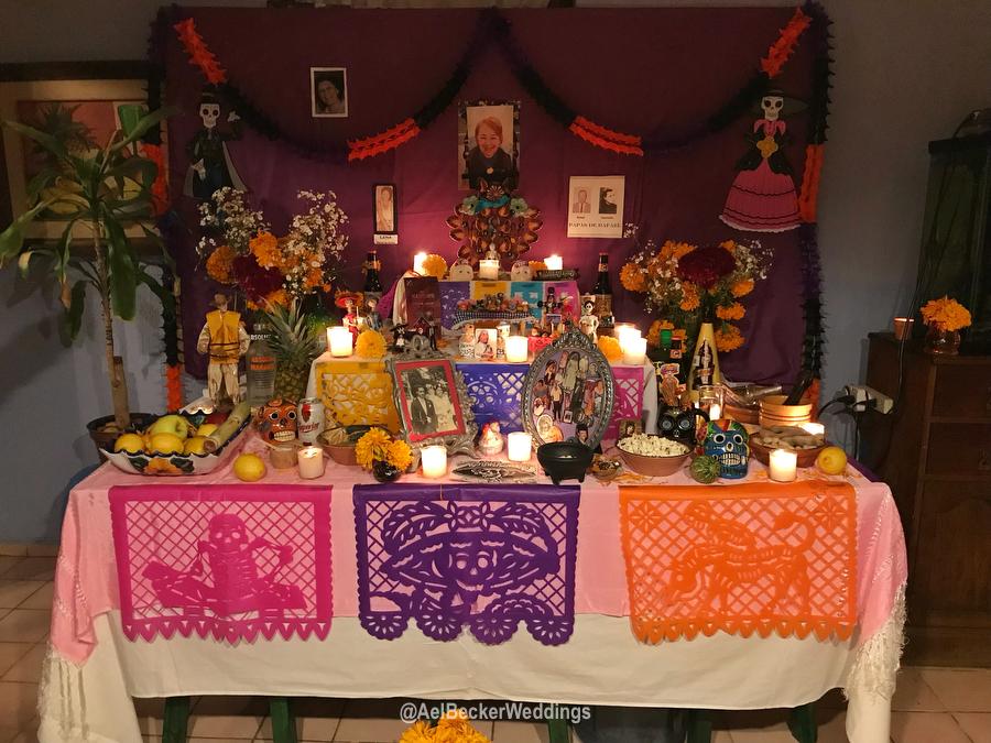 Altar de Muertos, dia de muertos en Cancun