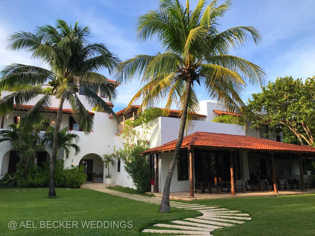 Hotel Esencia, Main House. Riviera Maya, Mexico
