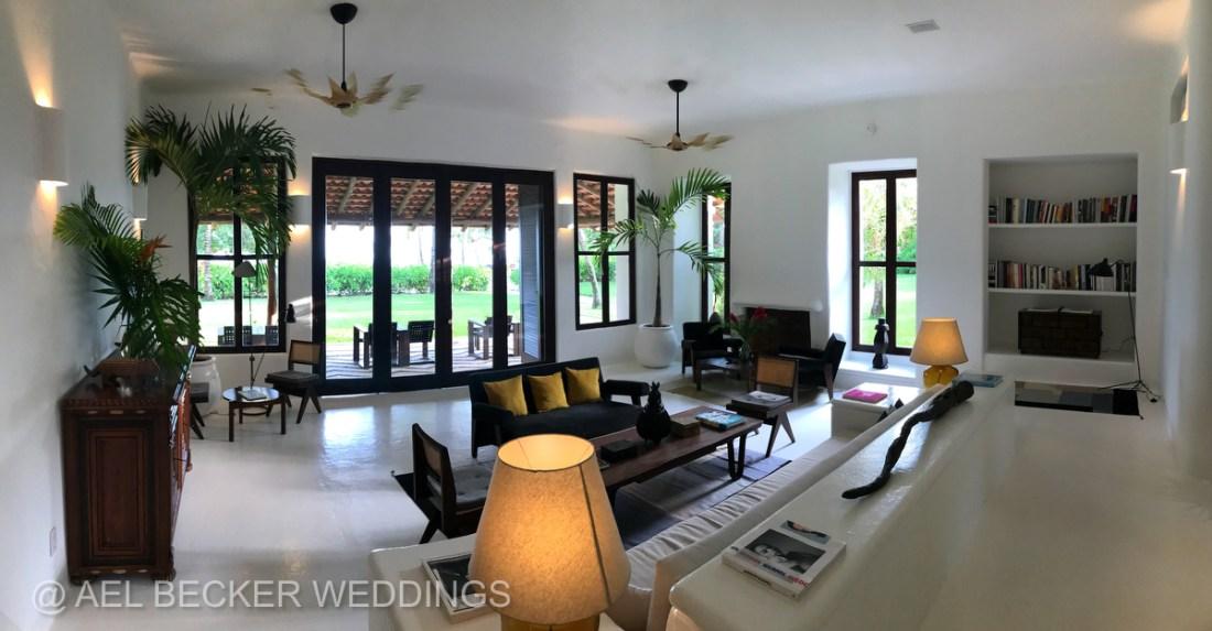 Hotel Esencia, Main House. Luxury Retreat in Riviera Maya, Mexico. Ael Becker Weddings