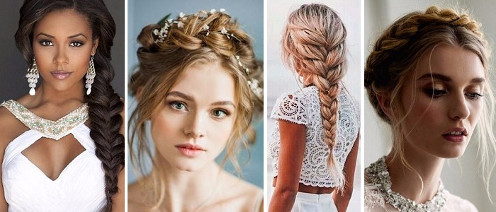 Bridal braided hair styles 2018