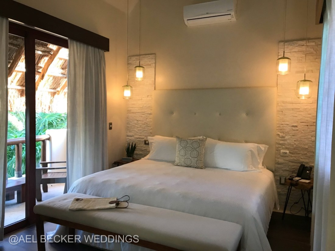 Ha Room, Mukan Resort, Tulum, Mexico. Ael Becker Weddings