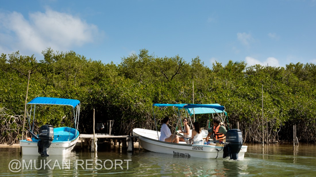 Lagoon Tours by Mukan Resort, South of Tulum, Mexico. Ael Becker Weddings