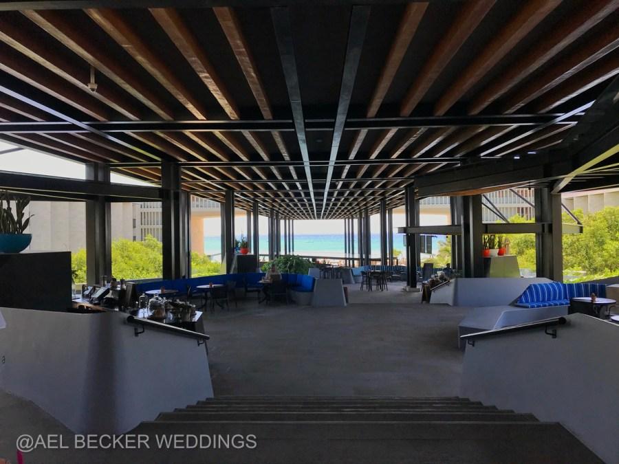 Grand Hyatt Playa del Carmen Main Entrance. Ael Becker Weddings