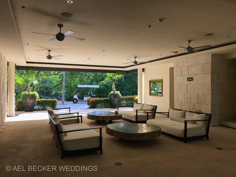 Ballrooms area. Blue Diamond Luxury Boutique Hotel, Riviera Maya, Mexico. Ael Becker Weddings