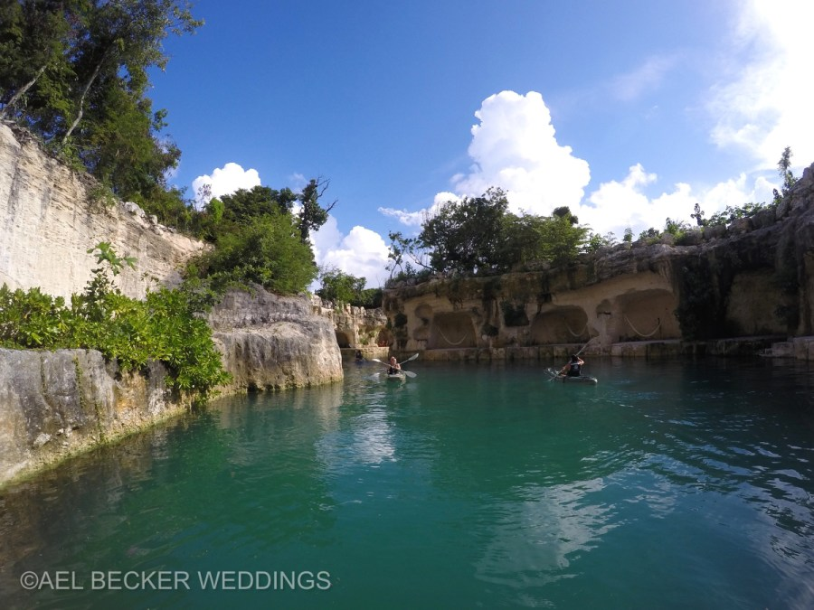 Hotel Xcaret River. Ael Becker Weddings