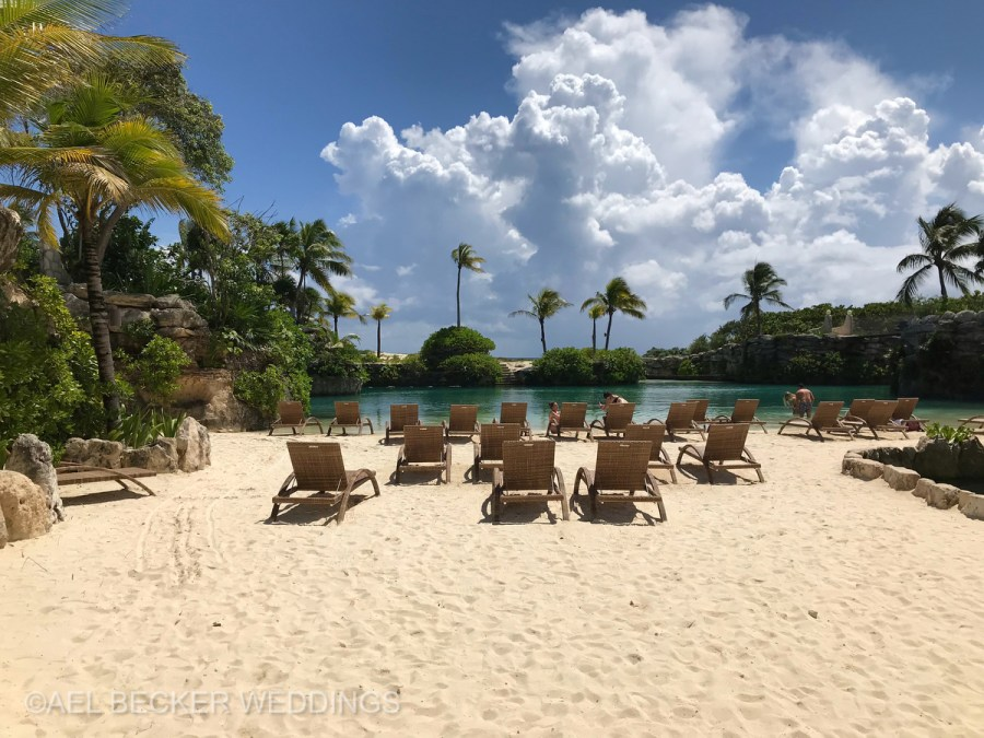 Hotel Xcaret Mexico, inlets. Ael Becker Weddings