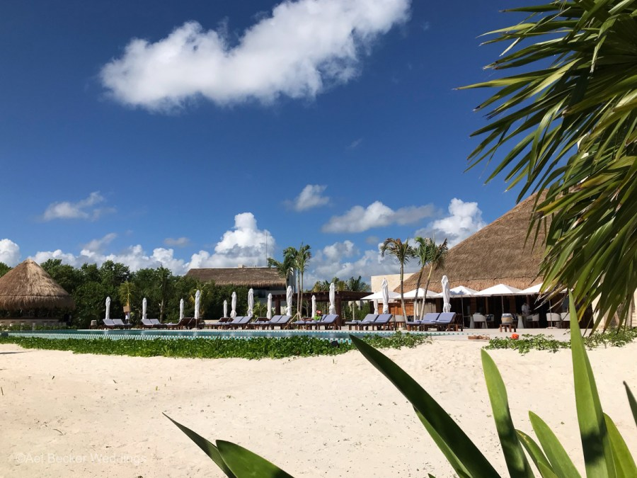 Chable Maroma, Boutique Wellness Hotel in Mexico. Ael Becker Weddings