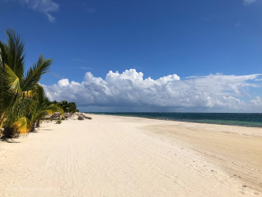 Beach at the new Chable Maroma, Riviera Maya, Mexico. Ael Becker Weddings