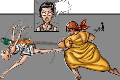 Mother VS SON