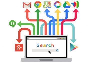 google index with chrome maps drive logo