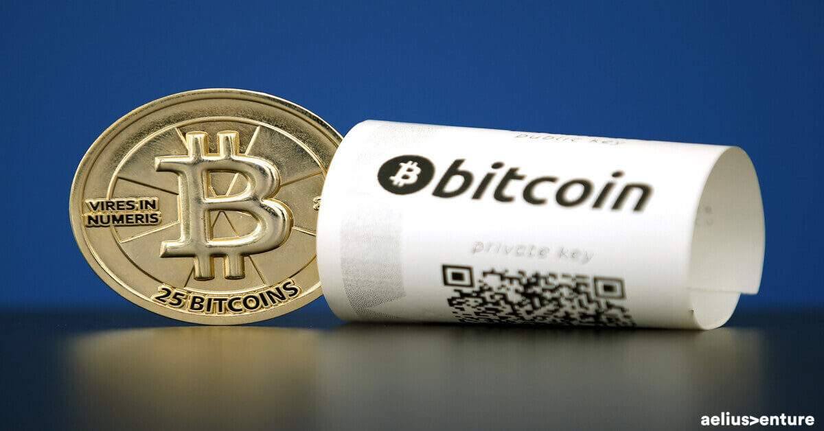 Bitcoin Payment Receipt on a piece of white paper