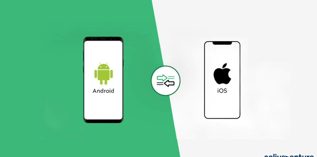 ios android mobile icon show