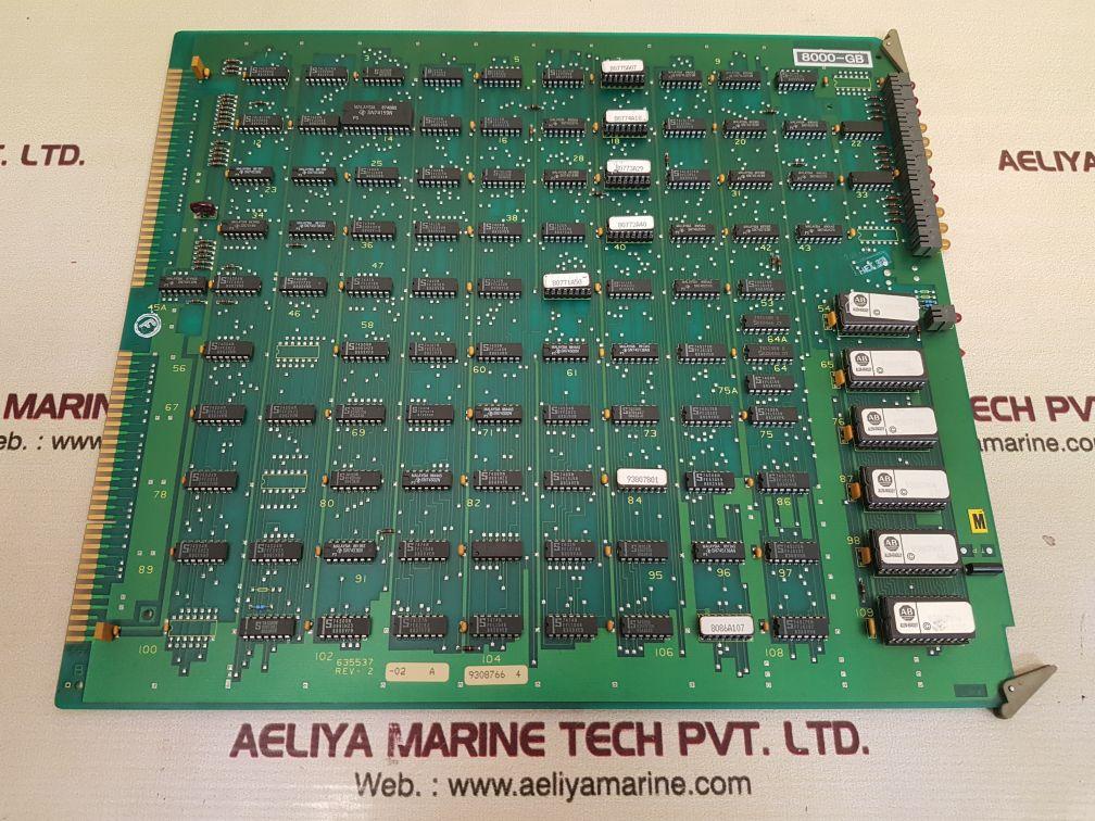 ALLEN-BRADLEY 635537 PCB CARD