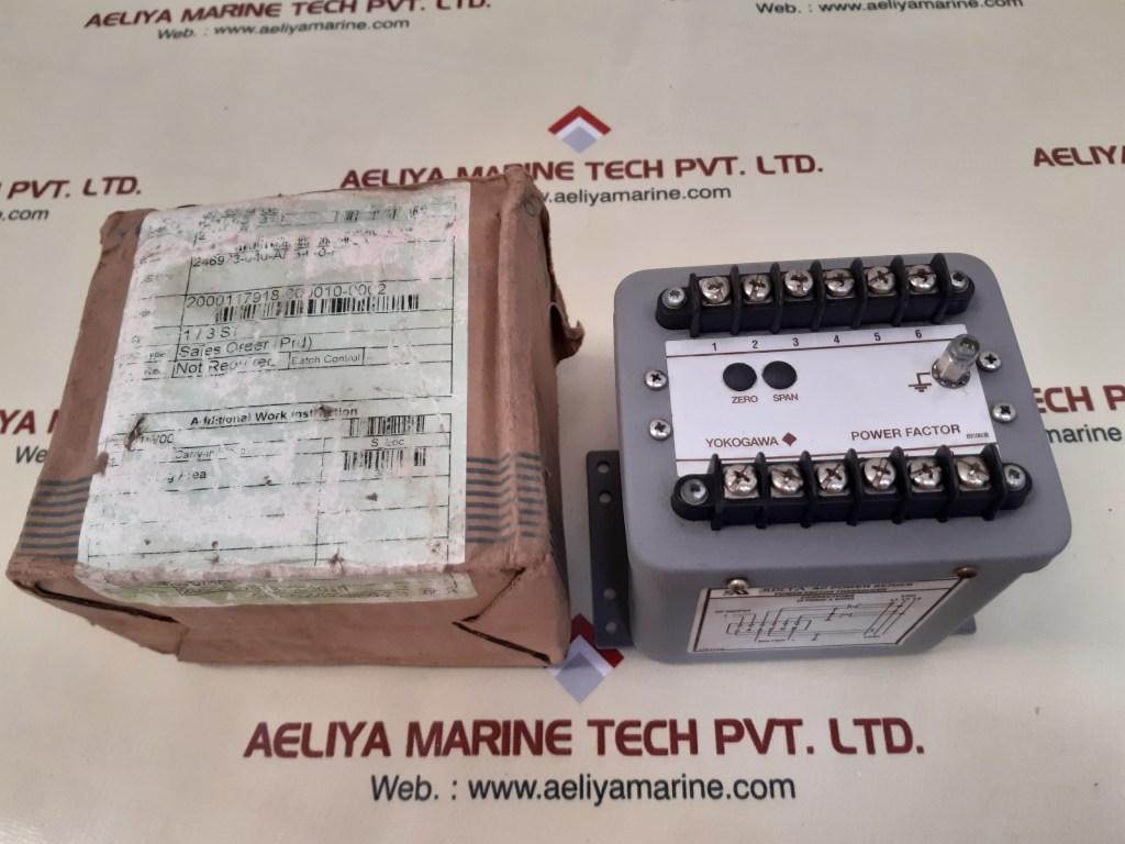 YOKOGAWA 246973-640-AFB-0-0P POWER FACTOR TRANSDUCER