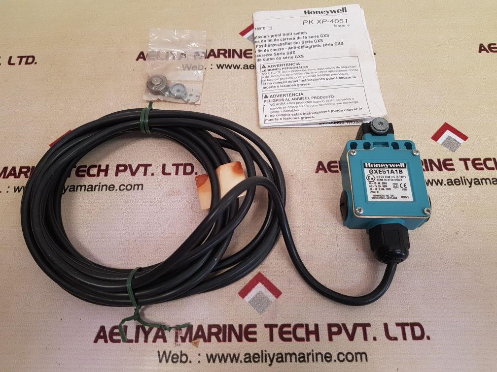 HONEYWELL GXE51A1B EXPLOSION-PROOF LIMIT SWITCH