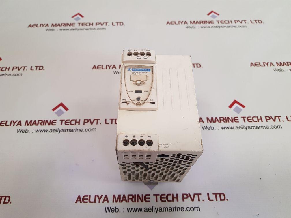 TELEMECANIQUE SCHNEIDER ELECTRIC ABL8RPS24100 POWER SUPPLY MODULE