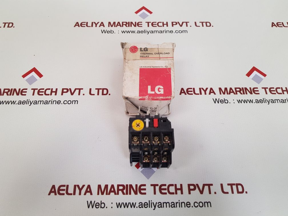 LG TH-3N THERMAL OVERLOAD RELAY JEM 1356