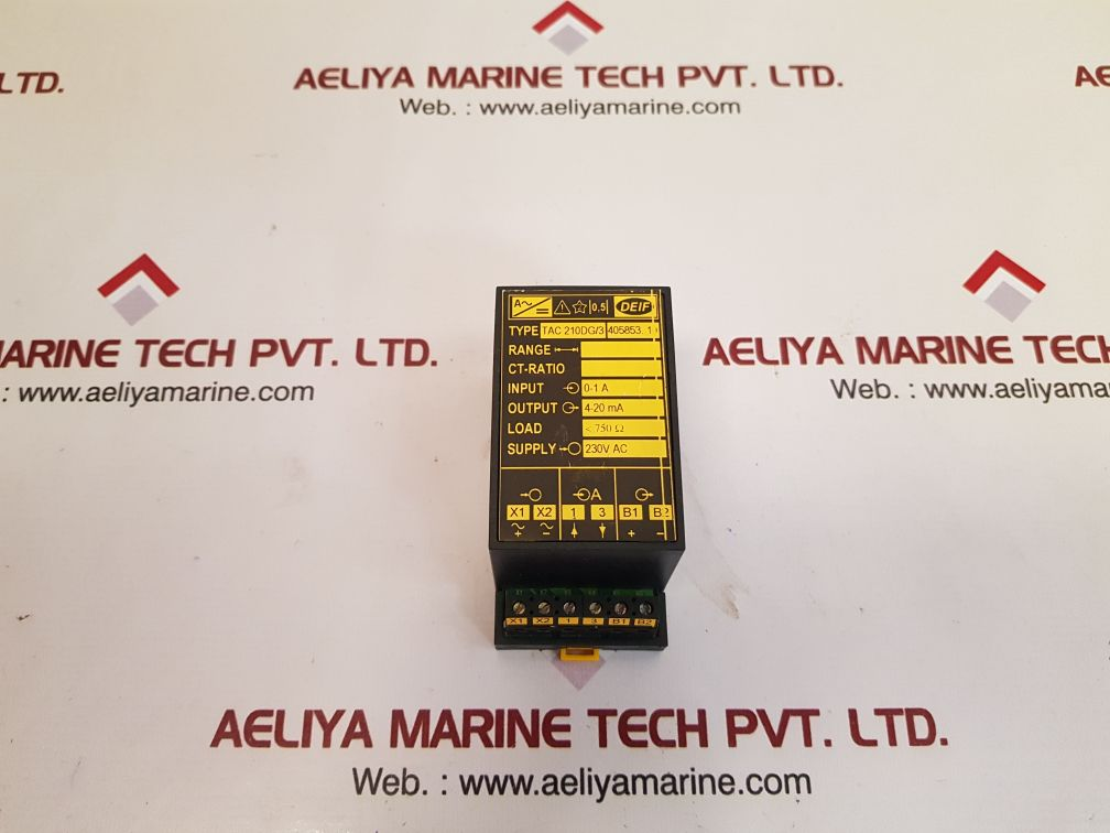 DEIF TAC 210DG/3 TRANSDUCER 405853.10