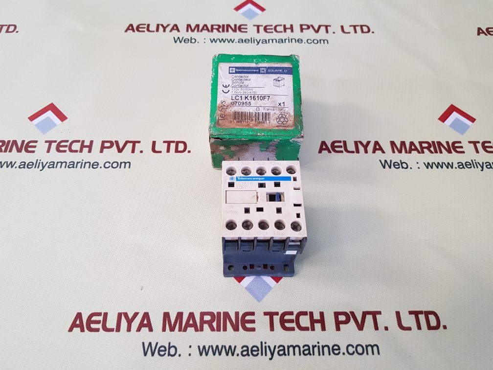 TELEMECANIQUE SCHNEIDER ELECTRIC SQUARE D LC1K16 10F7 CONTACTOR