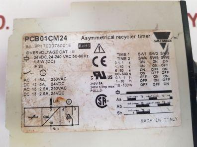 CARLO GAVAZZI PCB01CM24 ASYMMETRICAL RECYCLER TIMER