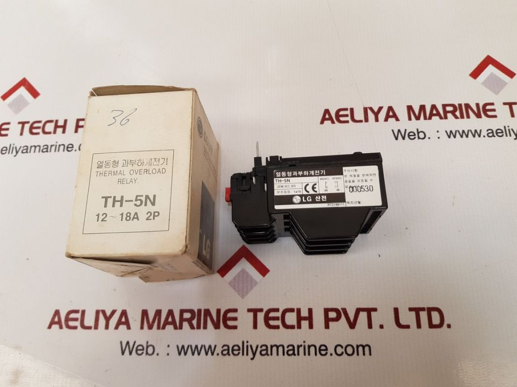 LG TH-5N THERMAL OVERLOAD RELAY RT2199111