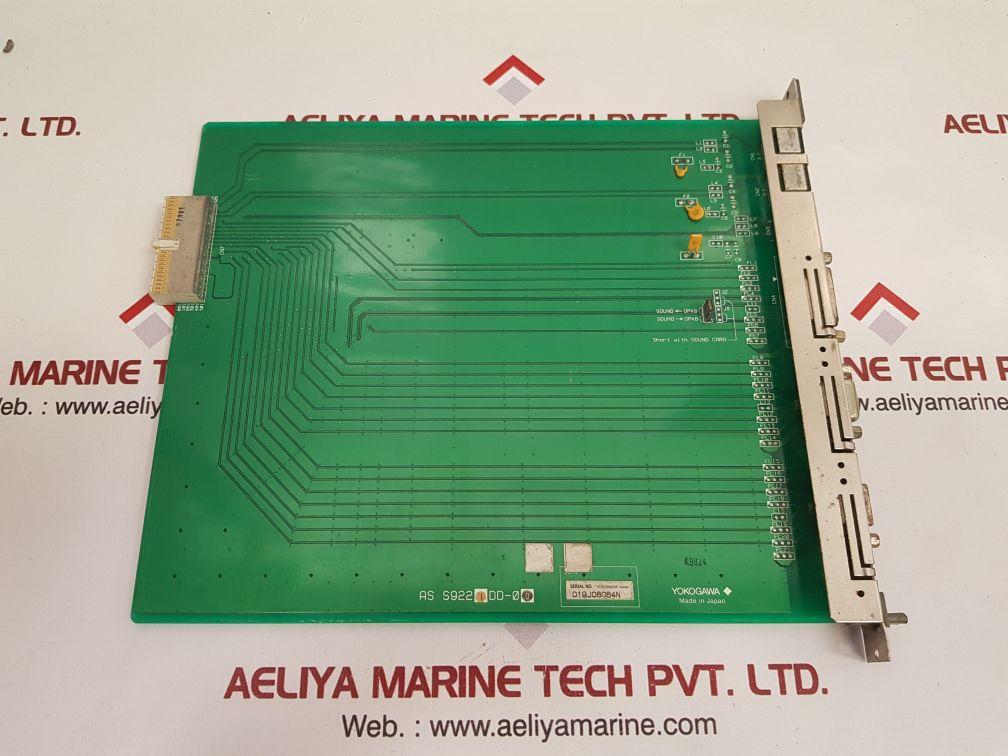 YOKOGAWA S9220DD-01 PCB CARD S9221DD-00