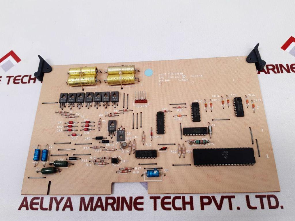 SAGEM 23074355C PCB CARD